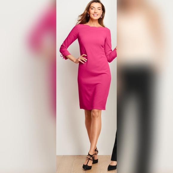 🆕 Talbots Crepe Shift Plus Size Petite Dress, WP NWT